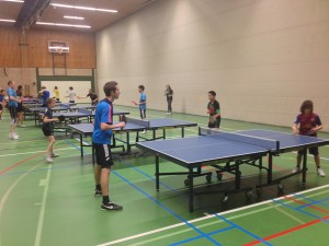 Training in De Tinnegieter